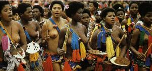 Swazi Ladies during Reed Dance